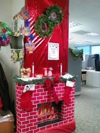 Office Christmas Decorating Ideas For Work by Leg Lamp Door Decor From Our Office Office Door Contest