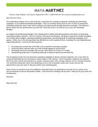 Marketing Manager Cover Letter Examples for Marketing