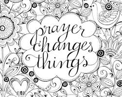 Prayer Coloring Page Sky Prayerchangesthings3 Karla S Korner Freebies