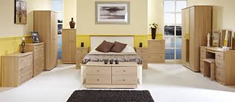 White And Oak Bedroom Furniture Sets Throughout Light