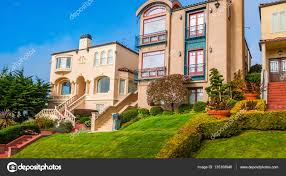 100 Victorian Property Classic Victorian Houses In San Francisco California Stock Photo