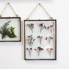 Find Unique Home Accents To Dress Up Your Walls Like This Decorative Hanging Metal Frame With A Glass Insert Is Perfect For Placing Favorite Silk
