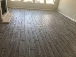 porcelain wood look tile pattern