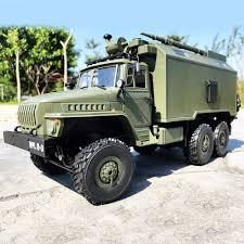 100 Rock Trucks WPL B36 Ural 116 24G 6WD RC Car Military Truck Crawler