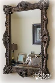25+ Unique Painting A Mirror Ideas On Pinterest | Painted Mirror ... Barn Board Picture Frames Rustic Charcoal Mirrors Made With Reclaimed Wood Available To Order Size Rustic Wood Countertops Floor Innovative Distressed Western Shop Allen Roth Beveled Wall Mirror At Lowescom 38 Best Works Images On Pinterest Boards Diy Easy Framed Diystinctly Mirror Frame Youtube Bathrooms Design Frame Ideas Bathroom Bath Restoration Hdware Bulletin Driven By Decor
