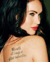 Collection Of 25 Celebrity Tattoo For Female