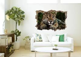 leopard jungle animal wall wall sticker wall