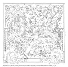 Arya Page CrLine You Can Check Out More Preview Art From HBOs Game Of Thrones Coloring Book