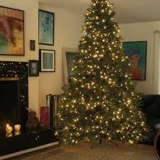 Ft 1500 Dual Color LEDs Pre Lit Frasier Tree