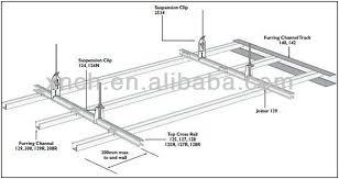 top croix rail pour plafond suspendu buy product on alibaba