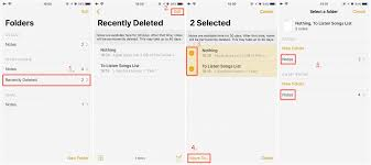 4 Ways to Recover Deleted Lost Notes on iPhone X 8 7 6s 5s
