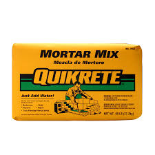shop quikrete 60 lb gray type n mortar mix at lowes