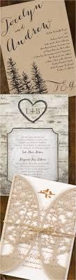 Rustic Wedding Invitation 87