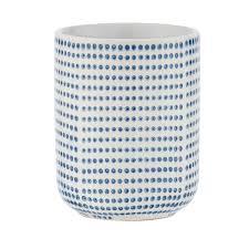 wenko keramik zahnputzbecher nole 7 5x9 5x7 5 cm kaufen