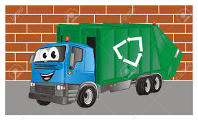 100 Funny Truck Pics Garbage On The Street Stock Photo Picture And Royalty