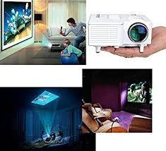 Mini Home Cinema Theater Portable 1080P HD Multimedia USB LED