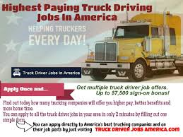 100 Highest Paid Truck Drivers Paying Driving Jobs In America By Jim Davis Issuu