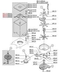 Rancilio Md40 50 80 Hopper Doser Parts Grinder Rh Espressoparts Com Mr Coffee ECMP50 Replacement Diagram Bvmc Sjx33