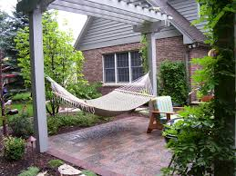 Hammock From Arbor. Image Courtesy Of Stuber Land Design, Inc ... Living Room Enclosed Pergola Designs Stone Column Home Foundry Impressive Haing Outdoor Bed Wooden Material Beige Ropes Jamie Durie Garden Hammock Bed Design Garden Ideas Fire Pit And Fireplace Ideas Diy Network Made Makeovers Hammock From Arbor Image Courtesy Of Stuber Land Design Inc Best 25 On Pinterest Patio Backyard Keysindycom Modern Pa Choosing A Chair For Your 4 Homes With Pergolas Rose Gable Roof New Triangle Black Homemade