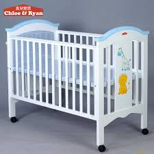 Multi purpose Wooden Baby Bed With Cradle Mosquito Net Adult Baby