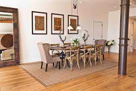Chair Glides On Hardwood Floors by Chair Glides Look New York Industrial Dining Room Inspiration With