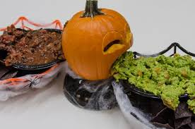 Vomiting Pumpkin Dip by 7 Great And Super Gross Ideas For Your Puking Pumpkin This