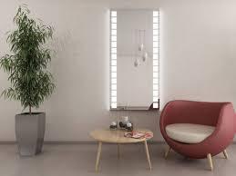 exklusiver led wandspiegel schlafzimmer