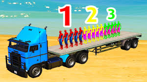 Learn Numbers - Spiderman In Truck For Kids Cartoon With Colors ... 12 Scale Marvel Legends Shield Truck Vehicle Spiderman Lego Duplo Spiderman Spidertruck Adventure 10608 Ebay Disney Pixar Cars 2 Mack Tow Mater Lightning Mcqueen Best Tyco Monster Jam For Sale In Dekalb County Popsicle Ice Cream Decal Sticker 18 X 20 Amazoncom Hot Wheels Rev Tredz Max D Coloring Page For Kids Transportation Pages Marvels The Amazing Newsletter Learn Color Children With On Small Cars Liked Youtube Colours To Colors Spider Toysrus