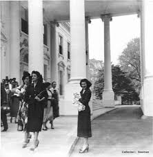 My Mother Is Holding Me Outside The White House In 1950s Look How Stylishly