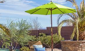 Rectangle Patio Tablecloth With Umbrella Hole by Throwing Shade Find The Right Patio Umbrella Overstock Com