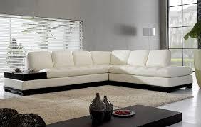 White Modern L Shaped Sofa Design Ideas