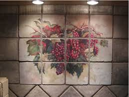 Tuscan Wine And Grape Kitchen Decor by Grape Kitchen Theme Examples Of Kitchen Backsplashes Kitchen
