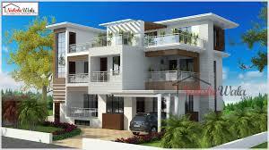 100 Indian Modern House Design Floor Plan Map Home Plan Front