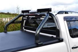 To Fit 10 - 16 VW Amarok Roll Bar + Light Bars + Beacon + Tonneau ...