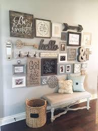 Diy Farmhouse Style Decor Ideas Entryway Gallery Wall