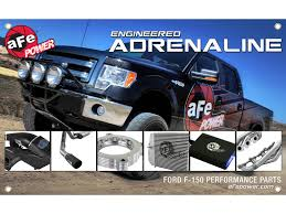 100 Adrenaline Truck Performance Banner 3 X 5 Ft Ford F150 Products1 AFe POWER
