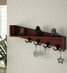 Decorative Key Holder For Wall by 14 Imaginary Floating Wall Shelves For Small Homes
