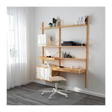 "SVALN""S Wall mounted workspace bination IKEA"