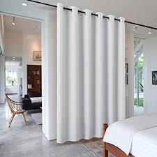 Amazon Sliding Door Curtains Room Divider RYB HOME Heavy