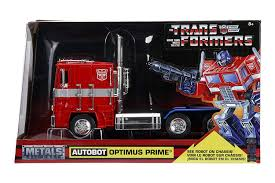 Amazon.com: Optimus Prime Truck With Robot On Chassis From ...