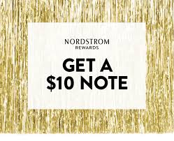Nordstrom Rack Get a $10 Nordstrom Note to shop during the