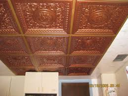 Fiberglass Ceiling Tiles 24x24 by Copper Ceiling Tiles Faux Copper Ceiling Tiles Tin Ceiling