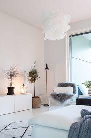 hygge weißes wohnzimmer gemütliches wohnzimmer