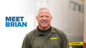 100 Local Truck Driver Jobs Meet Brian JB Hunt Intermodal YouTube