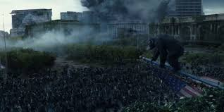 Watch The Full Trailer For 'Dawn Of The Planet Of The Apes'   HuffPost Closer Look Dawn Of The Planet Apes Series 1 Action 2014 Dawn Of The Planet Apes Behindthescenes Video Collider 104 Best Images On Pinterest The One Last Chance For Peace A Review Concept Art 3d Bluray Review High Def Digest Trailer 2 Tims Film Amazoncom Gary Oldman