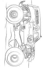 Monster Jam Scooby Doo Monster Truck Coloring Page - Free Coloring ...