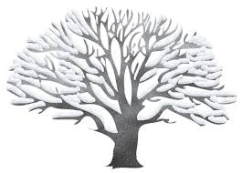 Winter Tree Ping Clipart 1