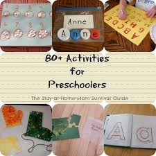80 Preschool Activities Great Site