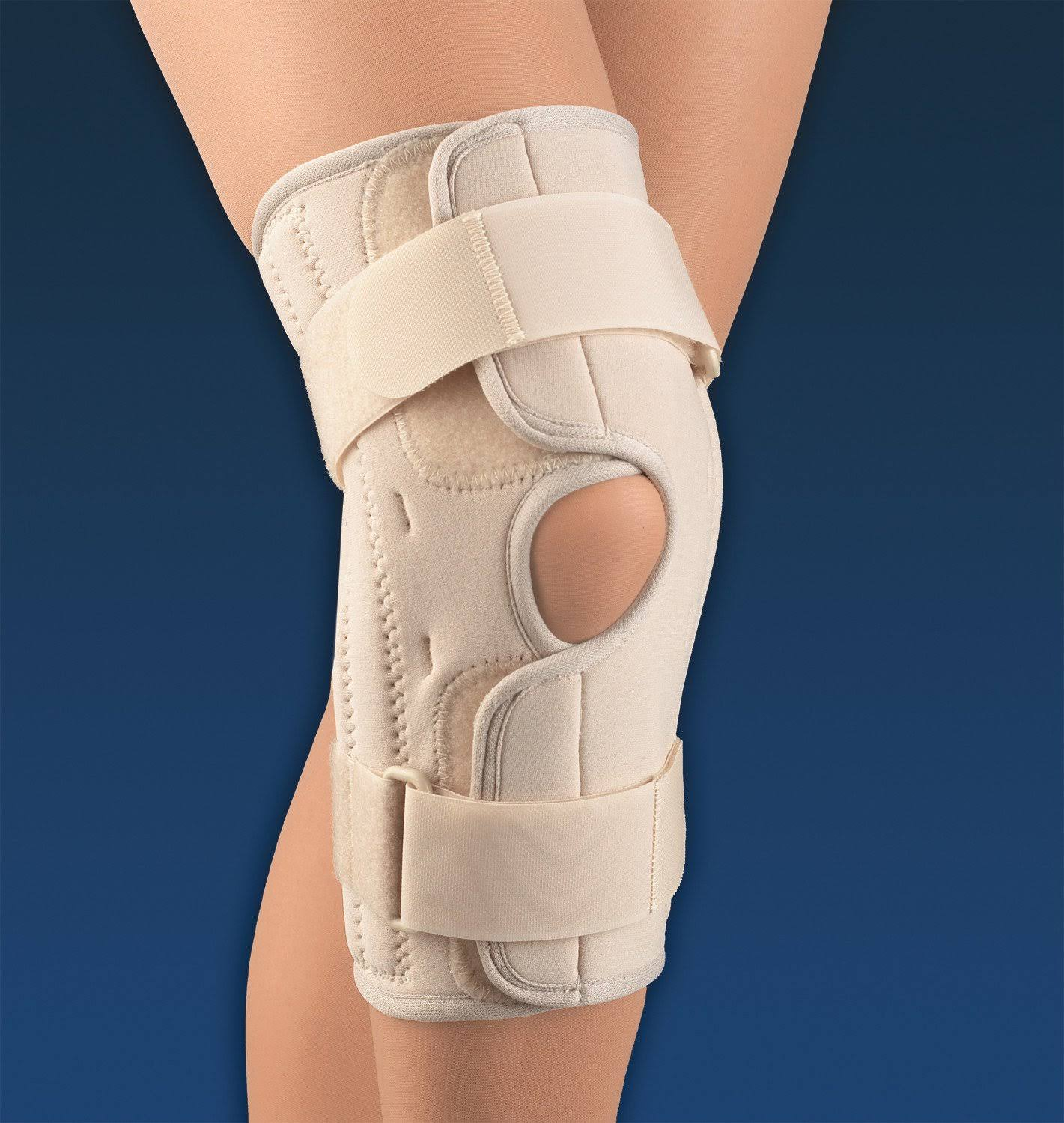 Soft Form Wrap Around Stabilizing Knee Support : Large
