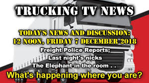Trucking TV News, Friday 7 December 2018 - YouTube Trucking Capacity Crunch Leading To Record Freight Rates Fleet Driving The New Cat Ct680 Vocational Truck Truck News What Does Teslas Automated Mean For Truckers Wired Sa Longdistance Home Facebook Otr Whever You Are Is Cr England California Bill Protect Truckers From Labor Vlations Goes Gov Home On Weekends Jobs In Trucking Life Of A Driver Under Law Retailers Share Ability Misclassified Todays Schneiders Spec Designed Drivers Top Concerns Facing Today Nexttruck Blog Industry